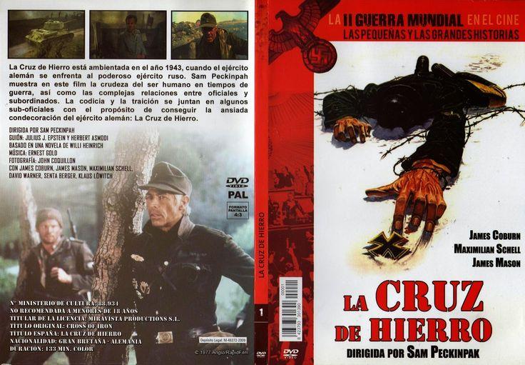Carátula dvd: La cruz de hierro (1977) (Cross of Iron)