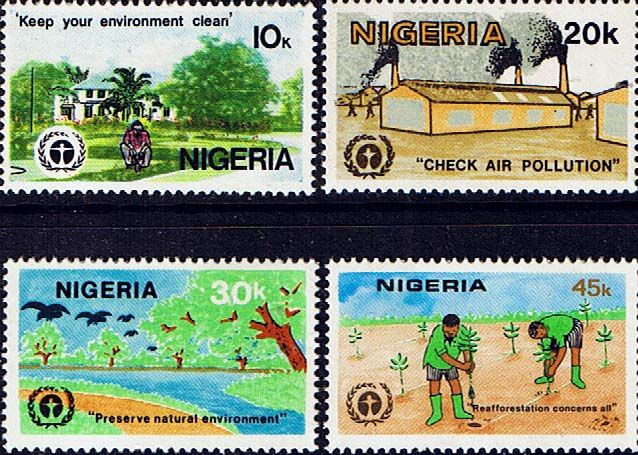Nigeria 1982 Human Environment Conference Fine Mint Other Nigerian Stamps HERE