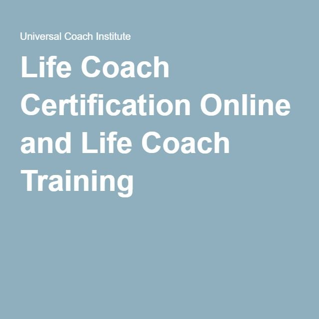 26 Best Coaching Certification Images On Pinterest Life Coaching