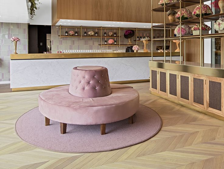 With Melbourne Cup Day approaching, this exquisite refurbishment project of the Parade Ring restaurant in Ascot UK, is right on theme! SHH Architecture and Interior Design took inspiration from the elliptical shape of the Parade Ring itself, and selected Havwoods Champagne PurePlank timber flooring, laid in a custom Chevron pattern, to compliment the colour palette which took inspiration from the colour of the Queen Anne rose, in recognition of the racecourse's royal founder.