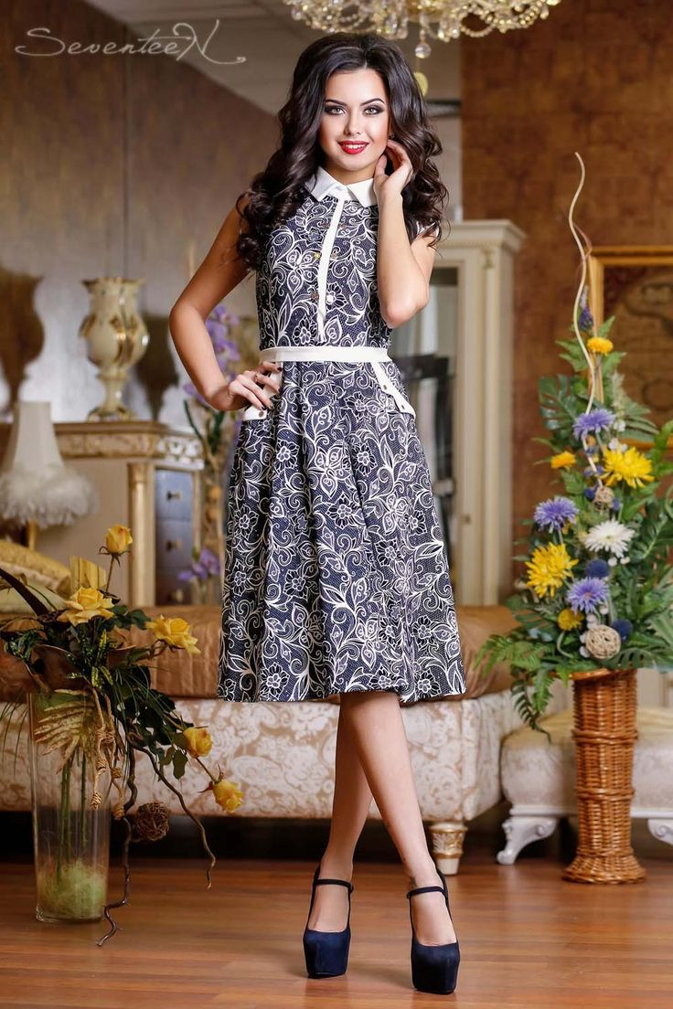 Платье 0731 - Интернет-магазин - Seventeen - магазин молодежной одежды