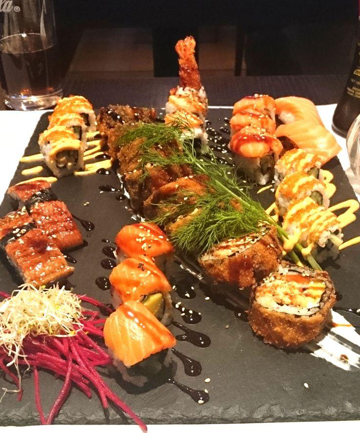 Frittiertes Sushi, Crunchy Sushi München im Kim Sang #sushi #münchen #munich #kimsang