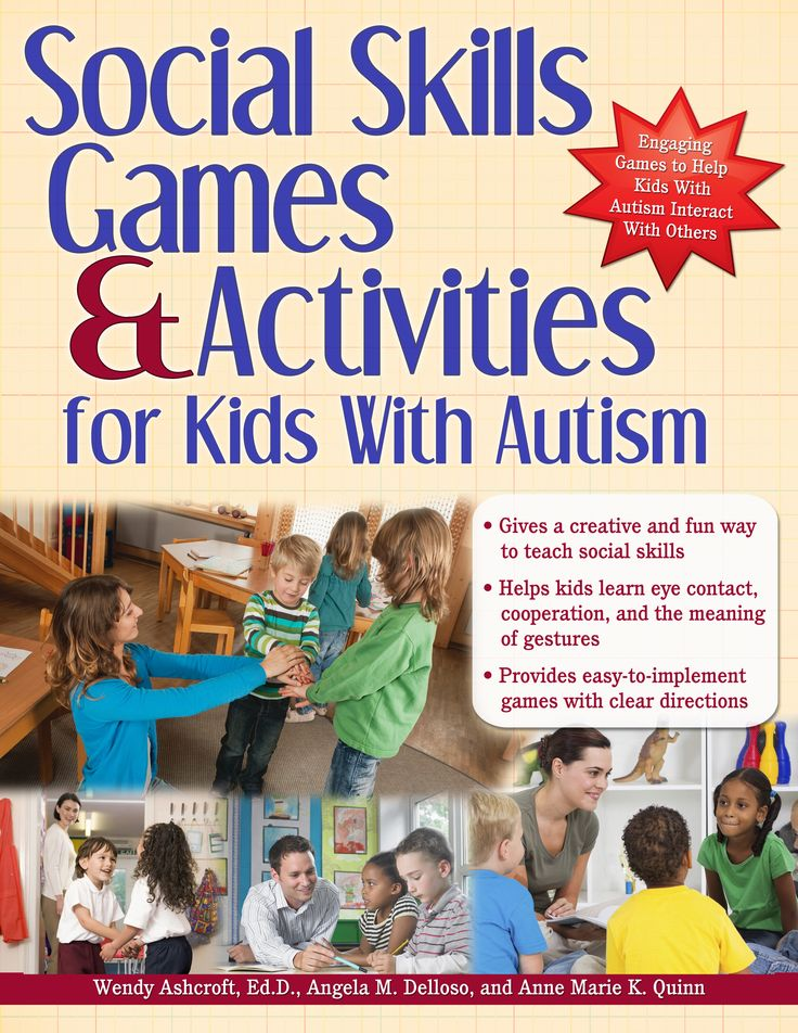 books about motivating autistic children | Social Skills Games and Activities for Kids with Autism