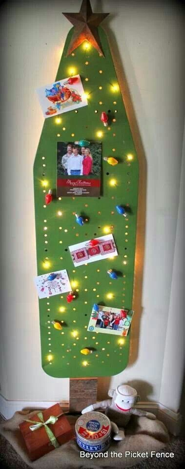 So cute!  Since I never use my ironing board, maybe I ought to do this!