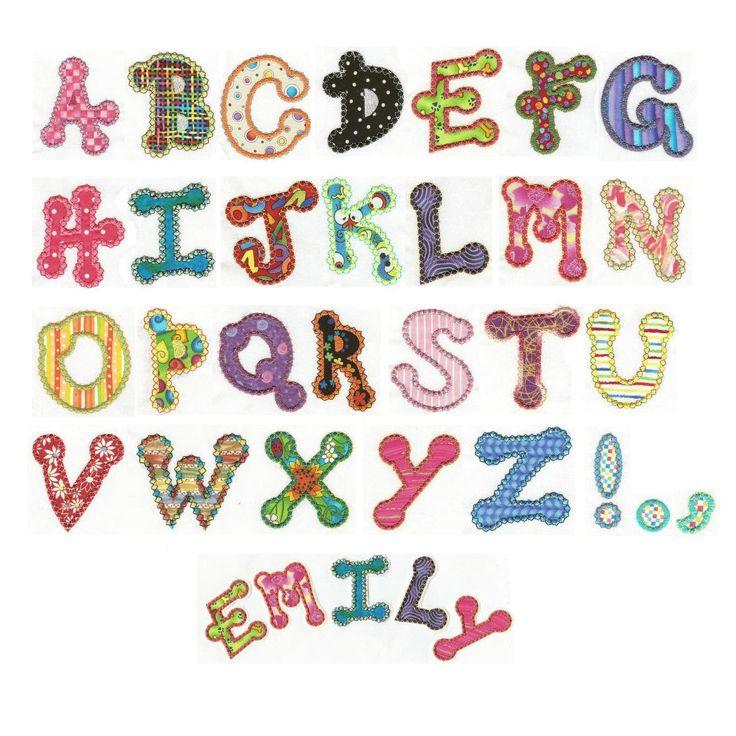 Dot alphabet applique machine embroidery font designs by
