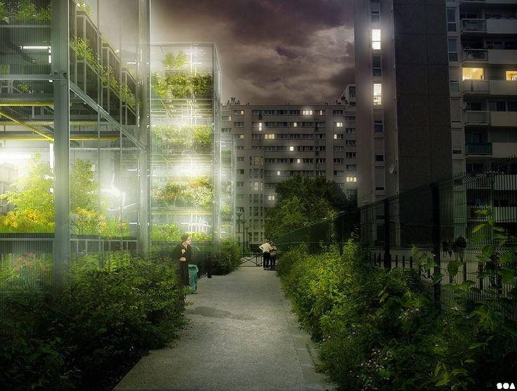 Fermes Urbaines - SOA Architectes Paris