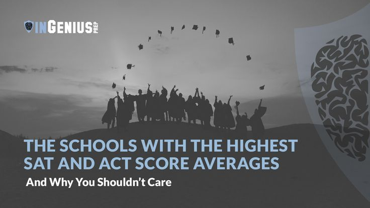 Check out our latest post Highest SAT Score Averages at Top Schools - https://blog.ingeniusprep.com/highest-sat-score-at-top-schools/
