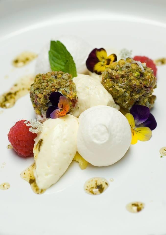 ice cream @Restaurant de Boschvijver.