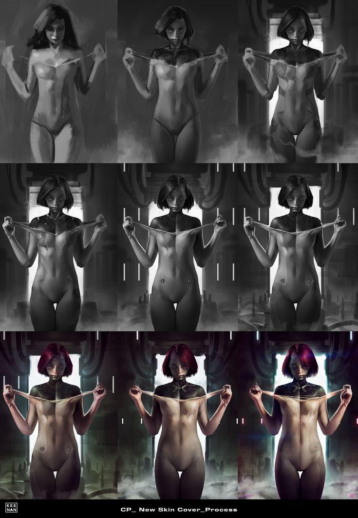 ArtStation - CP_New Skin, Dave Keenan