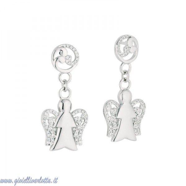 Orecchini Angeli Giannotti Argento MICROLIGHTING GIA92 http://www.gioiellivarlotta.it/product.php?id_product=356