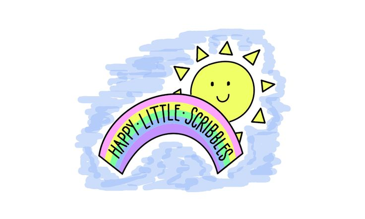 Happy Little Scribbles - art and craft blog - full of positive vibes, colour, sunshine and rainbows