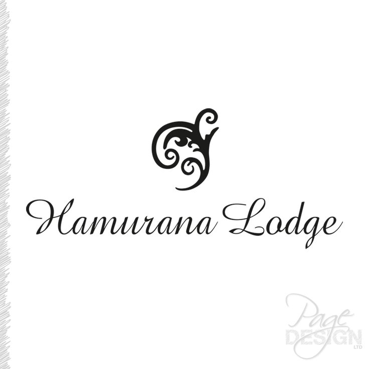 Logo Design for Hamurana Lodge, NZ