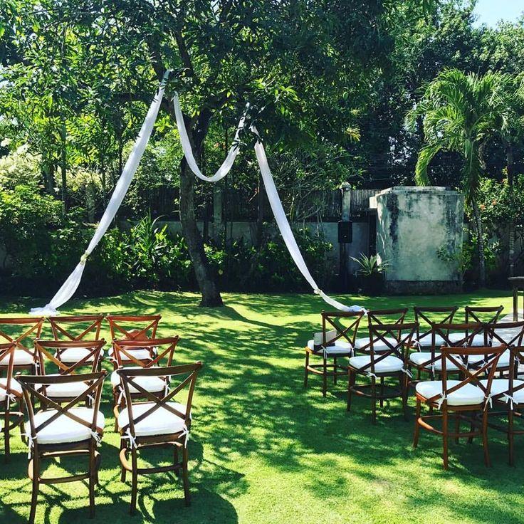 Garden Wedding Perfection