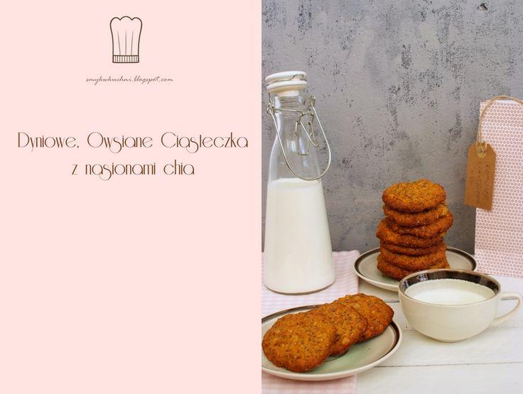 SMYKWKUCHNI: Zdrowe ciasteczka dla dzieci. Owsiane z nasionami ...