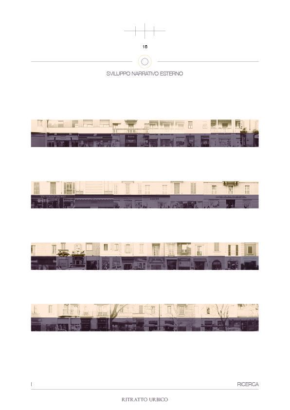 Sviluppo narrativo esterno - Ritratto urbico - Canovaccio - Onori di sala - Tesi - (Paolo Di Gennaro, 2017.)