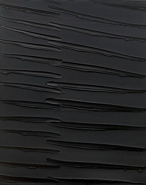 Pierre Soulages, Peinture 162×130 cm (September 2008) _