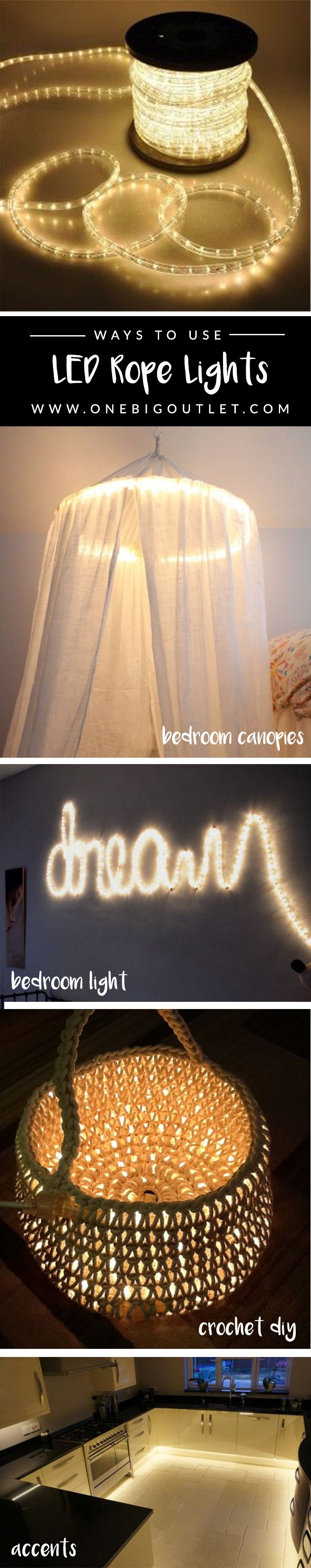 Best 25 rope lighting ideas on pinterest garden lighting rope bedroom lighting ideas home lighting ideas all using rope lights shop for them aloadofball Images
