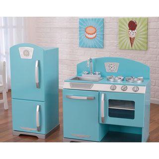 KidKraft Retro Kitchen and Refrigerator - Overstock™ Shopping - Big Discounts on KidKraft Kitchens & Play Food
