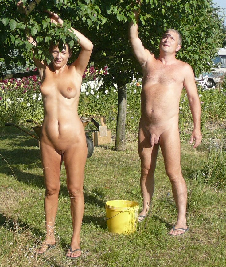 Nudist idea #18: Garden Naked