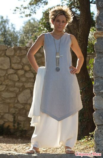 Мой новый образ а-ля Амалтея - туника + юбка - брюки шаг 4