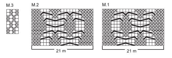 """Stickad DROPS mössa och byxdress med eller utan knäppning mellan benen i """"Merino Extra Fine"""". ~ DROPS Design"""