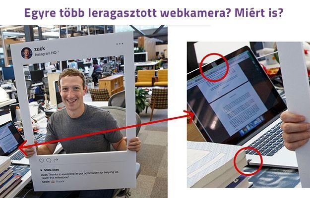 Gondoltad volna, hogy #Mark #Zuckerberg is leragasztja laptopja webkameráját ?