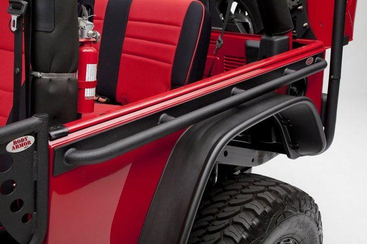 Body Armor 4X4 Tub Rails 97-06 Jeep Wrangler TJ-4322 Black #BodyArmor4X4
