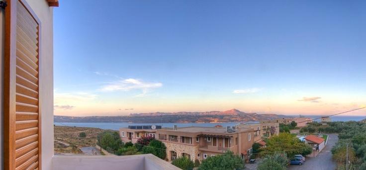 Villa Stratos Crete. View from Neria Villa