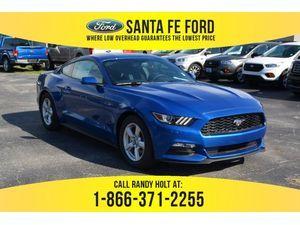 2017 Blue Ford Mustang V6 375092