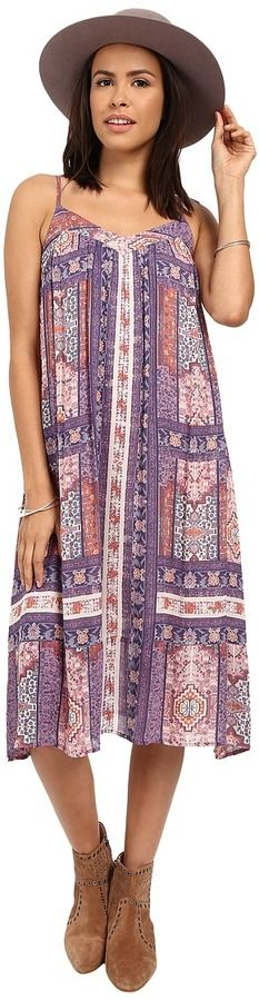 Lucky Brand Tapestry Print Dress