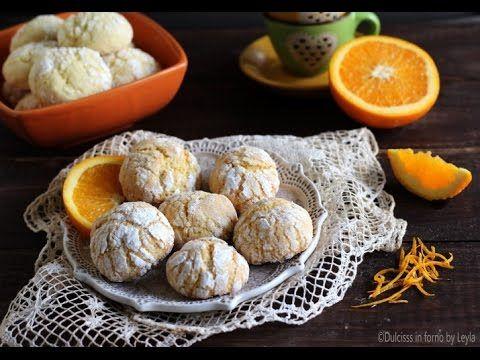 Biscotti morbidi all'arancia, profumatissimi