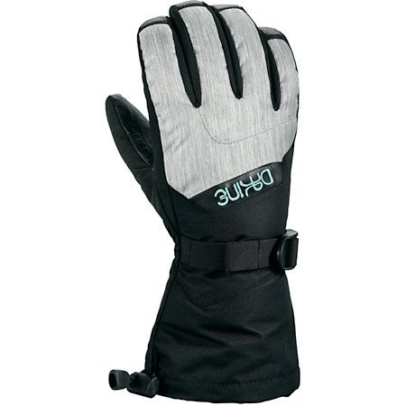 The Tahoe 2012 girls snowboard gloves by Dakine feature a sleek girl specific design with super soft High Loft Synthetic insulation lining, extra durable water repellent leather on the palm, a one handed cinch gauntlet closure and pull cinch wrist closure, and an internal heat pack pocket to keep your paws extra toasty. Grab the Dakine Girls 2012 Tahoe snowboard gloves today and head for the slopes! *Please see Outlet Product notes below.