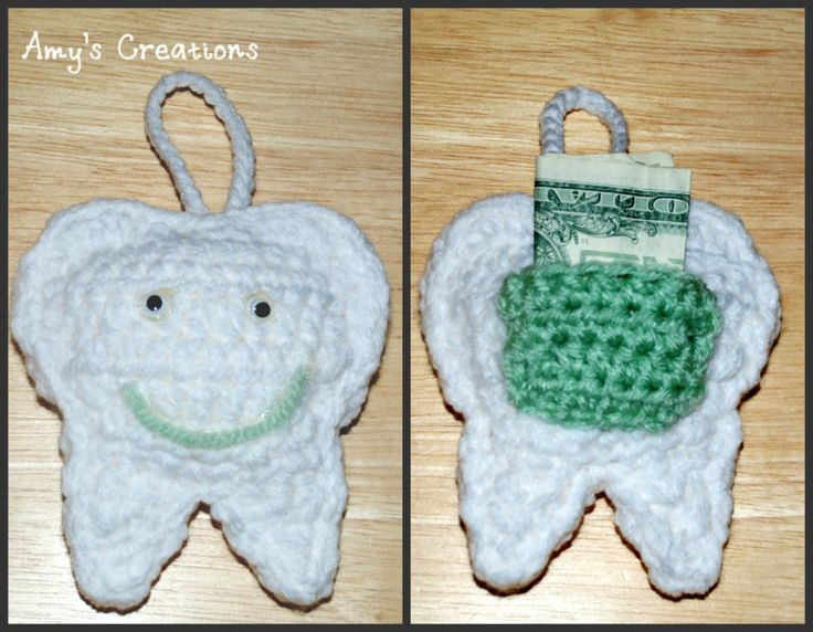 Crochet Tooth Fairy Pillow | Crochet Creative Creations- Free Patterns and Instructions | Bloglovin'