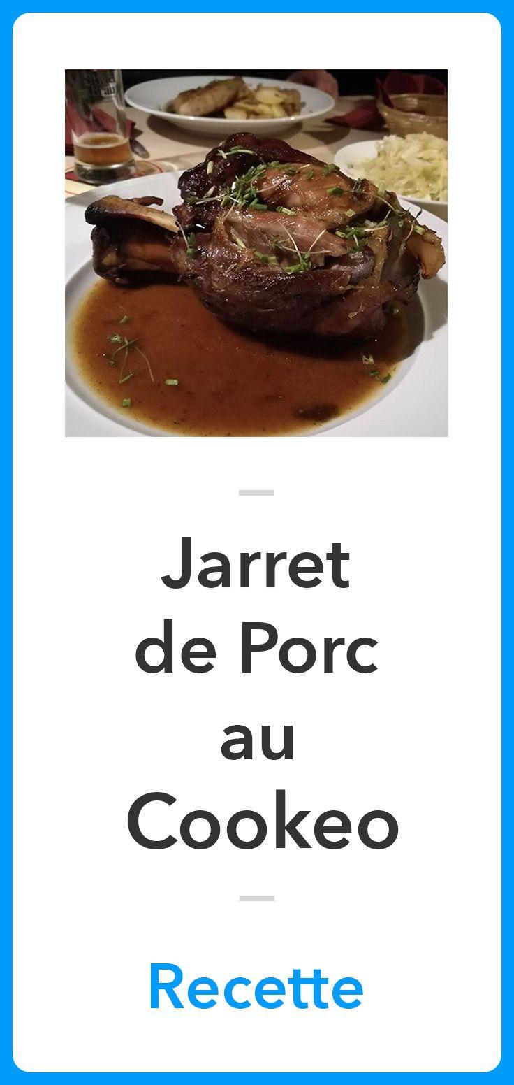 Jarret De Porc Au Cookeo : jarret, cookeo, Épinglé, Recettes, Cookeo, MyCookeo