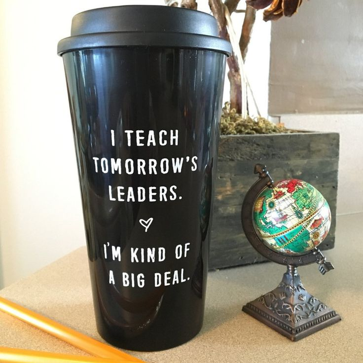 Teachers are constantly on-the-go, we know. It's rare that we have the time to drink our coffee while it's hot...until now! Keep yourself properly caffeinated, no matter how hectic your day gets in th