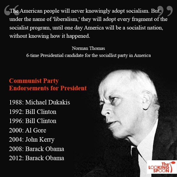 Are you a Democratic American or a Communist American?