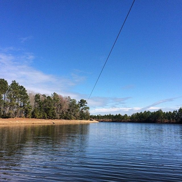 Dreaming of warmer weather and epic zip lines.  Photo taken at Go Ape North Myrtle Beach.