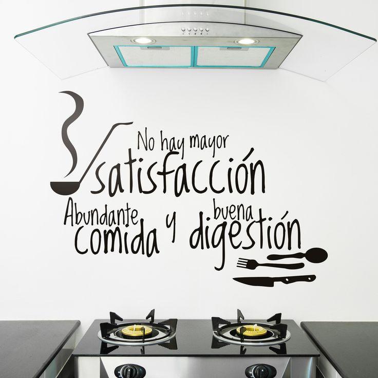 Mejores 53 imágenes de VINILOS PARA LA COCINA en Pinterest | Cocinas ...