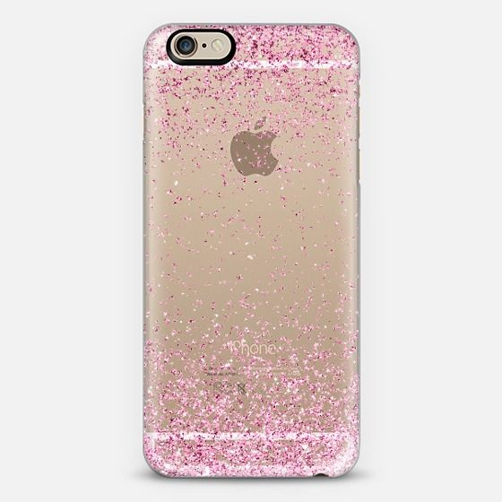 Pink Sparkly Glitter Burst iPhone 6 Case by Organic Saturation | Casetify. Get $10 off using code: 53ZPEA