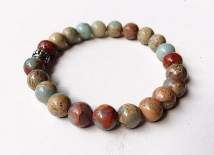 African Opal Power Bracelet 8mm   New Earth Gifts