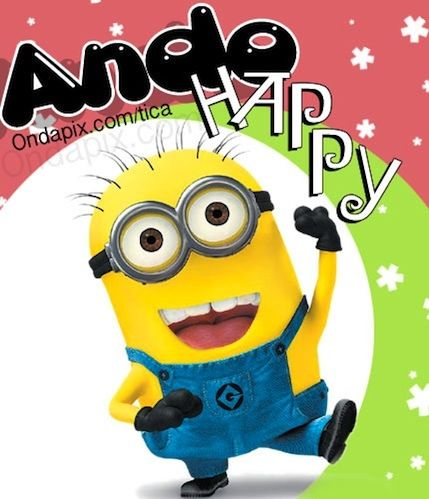 ... minions | VALORES Regalos Amer. | Pinterest | Minions, Happy and