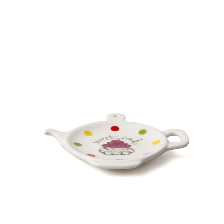 Karaca Apricot Poşet çay Tabağı 6 Adet