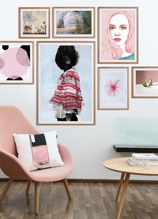 How to hang your art   JUNIQE