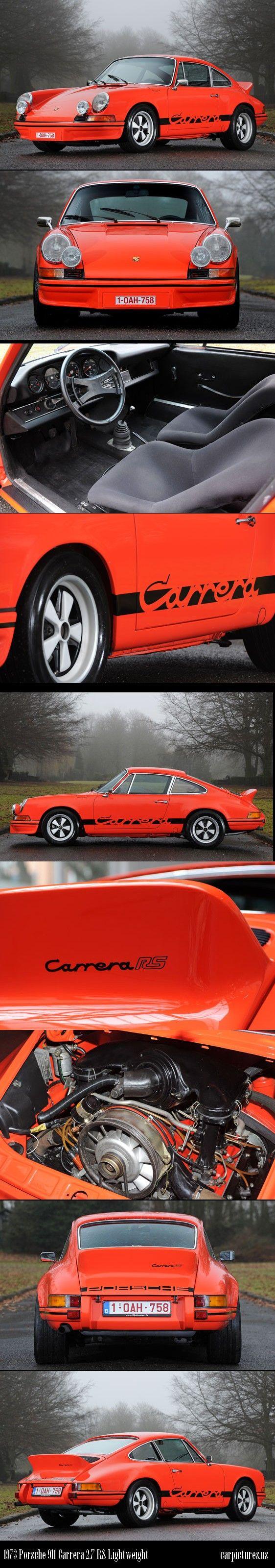 1973 Porsche 911 Carrera 2.7 RS Lightweight. Source: RM Auctions.