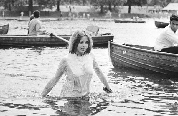 During the Rolling Stones concert in Hyde Park. London. United Kingdom. July 5, 1969.