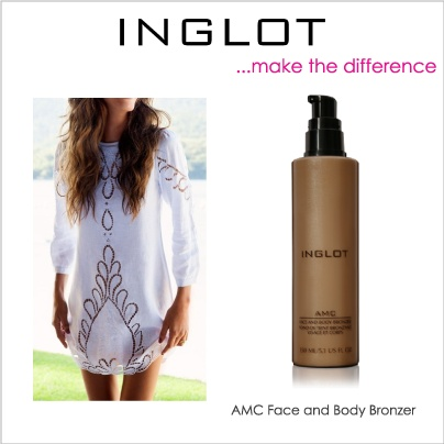 Time for a bronzed body with AMC Face and Body Bronzer