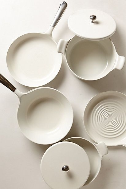 Ceramic-Coated Cookware - anthropologie.com #selvahwellness