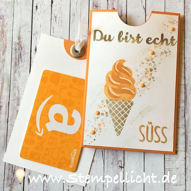 Gutscheinverpackung mit Eis, Eis,Baby von Stampin´Up!