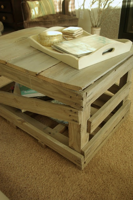 Crate Coffee Table Bomb Pinterest