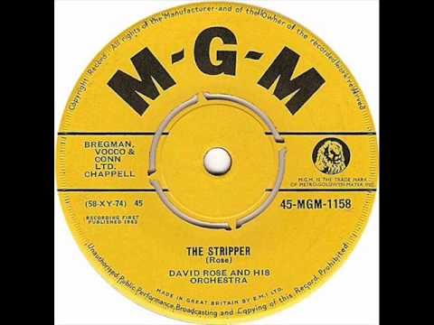 David Rose & His Orchestra - The Stripper.  My mother had this 45 RPM (!). I played this over and over... addictive.
